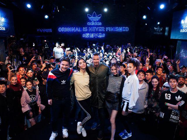 全球代言人David Beckham到场倾力支持 adidas Originals 2017年度#原创不息#庆典于上海盛大举行