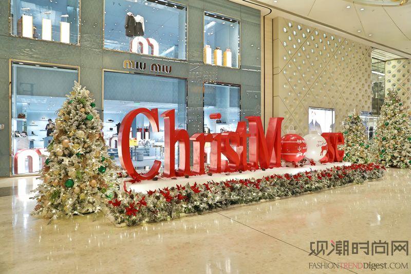 """上海ifc商场 闪耀欧""""鹿""""..."""