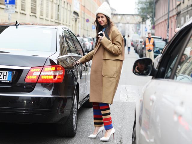 风衣流行款穿搭,玩转最应景街头单品!