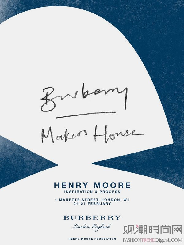 Burberry二月系列 艺...