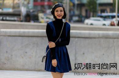 早春季时装达人示范5种方式搭配毛衣