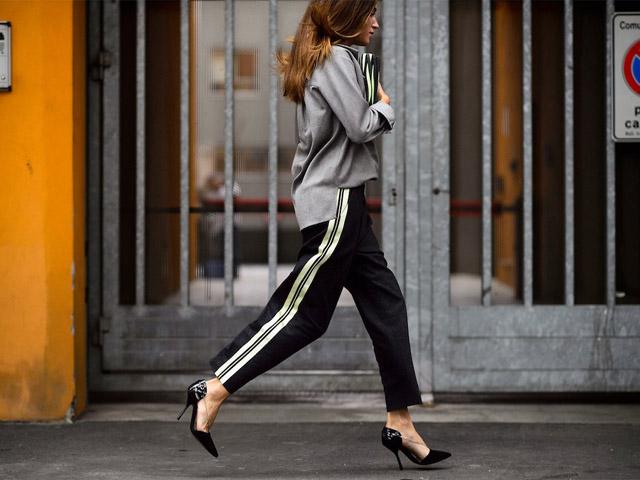 谁说运动裤不能穿出时尚范儿?潮人搭配给你好看