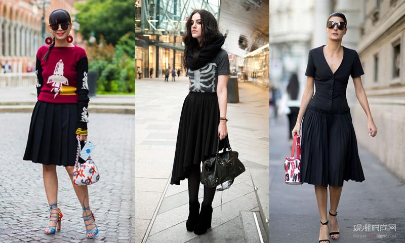 黑色系穿搭,永不过时的经典潮流