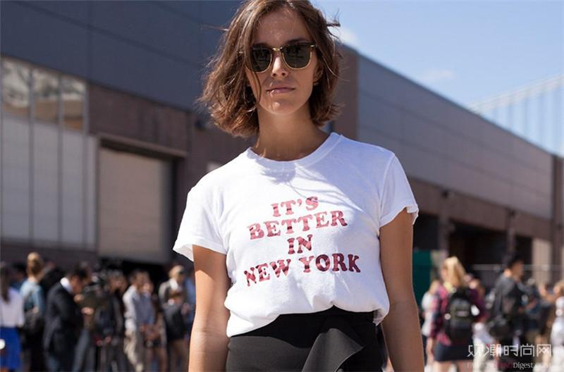 潮人都在穿的SloganT恤...