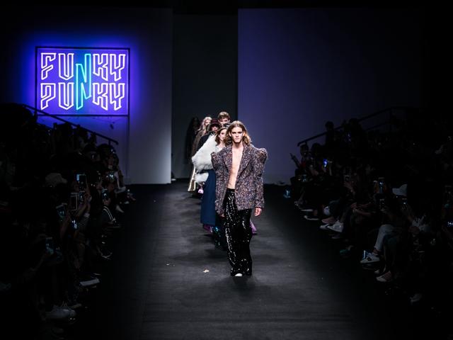 年龄无痕,性别无界,FUNKY PUNKY上海时装周首秀