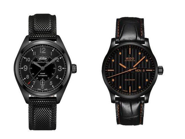 酷雅时尚 三款万元内纯黑色腕表推荐