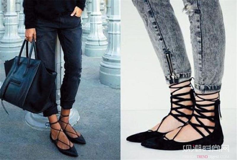 今夏必入绑带鞋,耍酷扮美一双搞定!