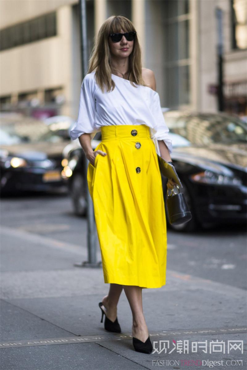 想清凉穿衣还不简单?柠檬黄单...