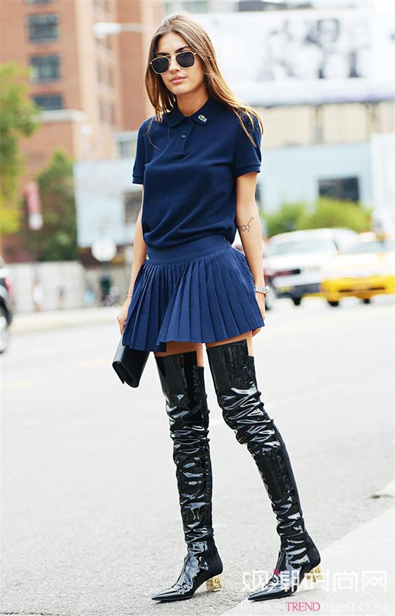 时尚icon都在穿的POLO衫,嫌老气的统统走开啦