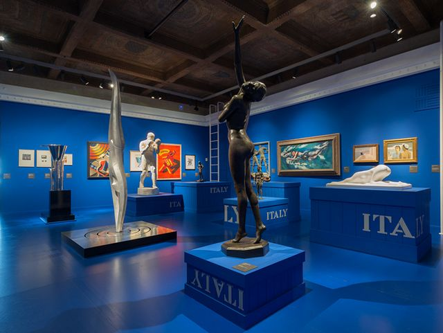 1927 THE RETURN TO ITALY展览 Salvatore Ferragamo与二十世纪视觉文化之旅