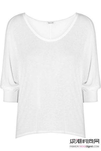 全球通用时尚小白T恤!你不能没有