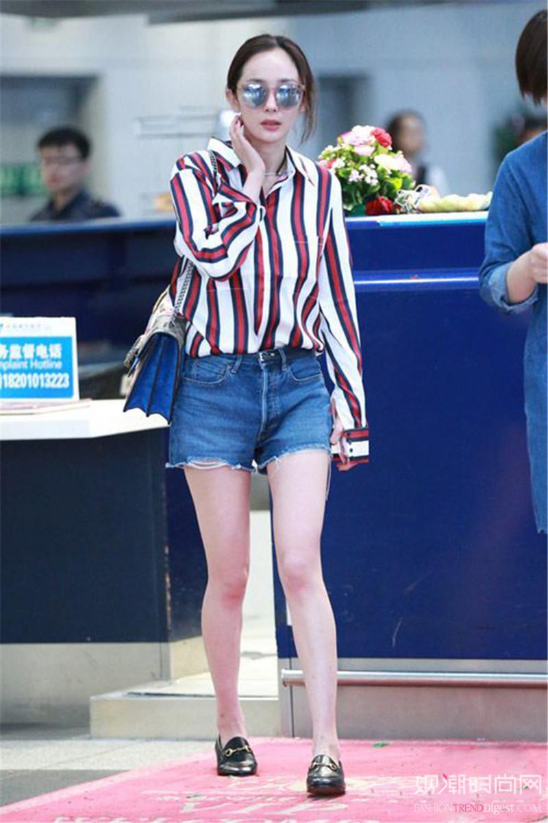 衬衫+短裤,夏季最IN打开方...