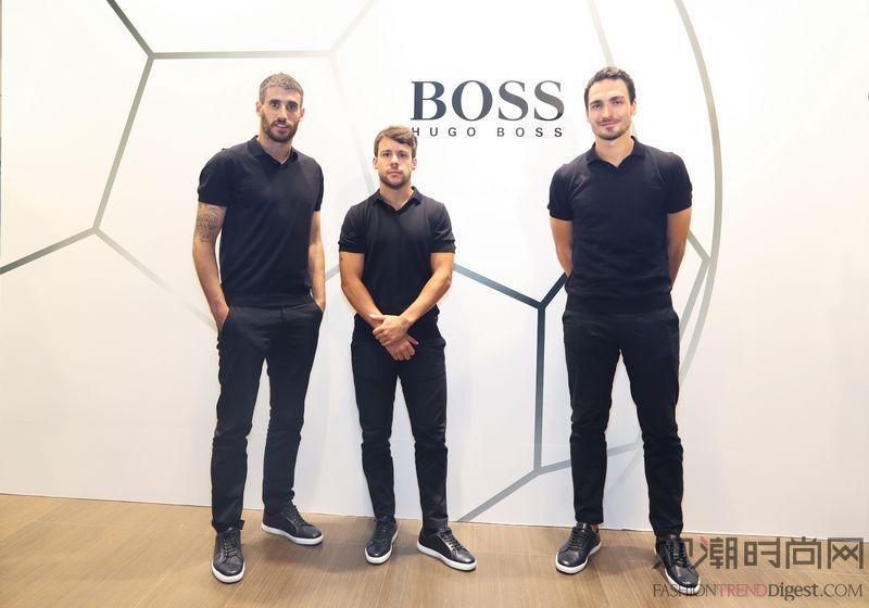 BOSS为拜仁慕尼黑足球俱乐...