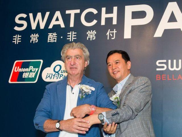 """SWATCH PAY ! 非常酷 • 非常付"" 登陆中国"