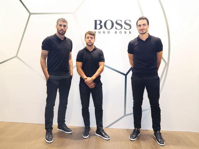 BOSS为拜仁慕尼黑足球俱乐部打造时尚战衣 德国冠军球队国际冠军杯上海站演绎BOSS风范