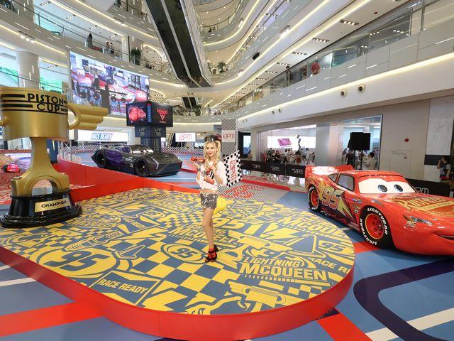 环贸iapm商场暑期震撼上演 《赛车总动员3:极速挑战》电影主题展  极速狂飙风靡全球