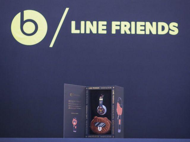 Beats by Dr. Dre与LINE FRIENDS联合推出全新特别版耳机