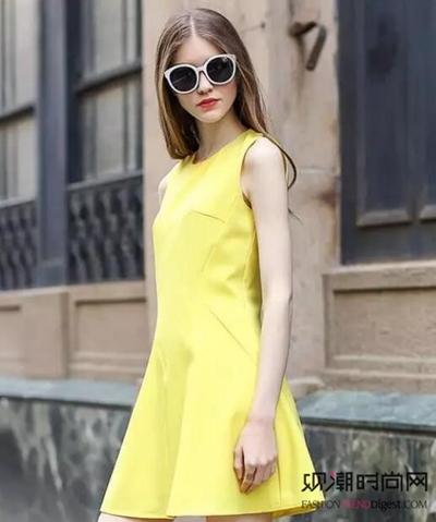 最爱那一点亮黄!轻轻松松显白...