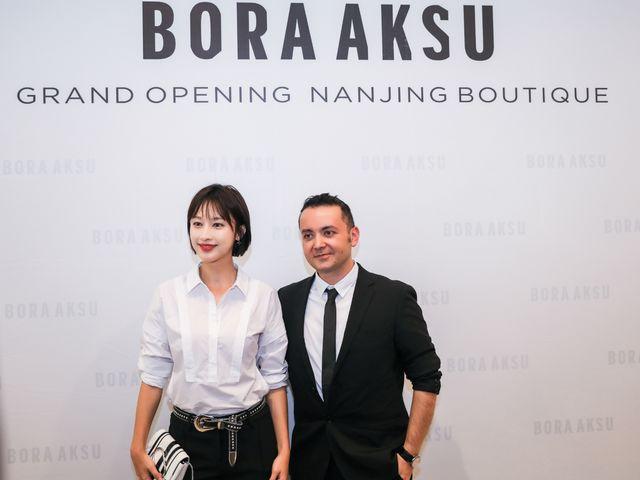 BORA AKSU南京首店开幕,张俪现身与设计师共赏时尚艺术