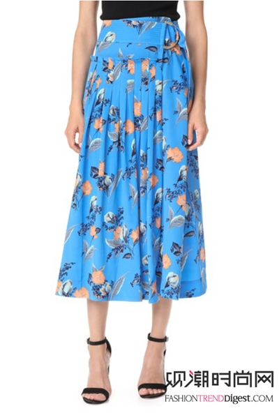 花朵裙搭配套路深,你知道几个?