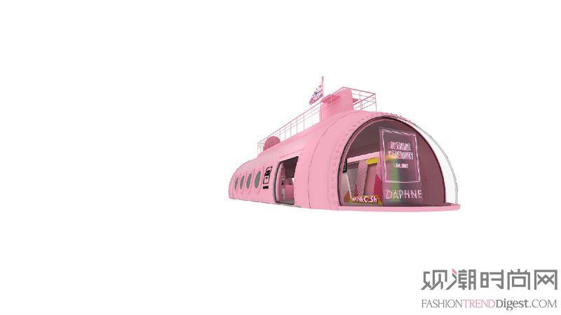 #PINK CRUSH号潜艇...