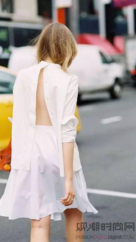 纯净白色 才是夏天的完美穿搭方程式