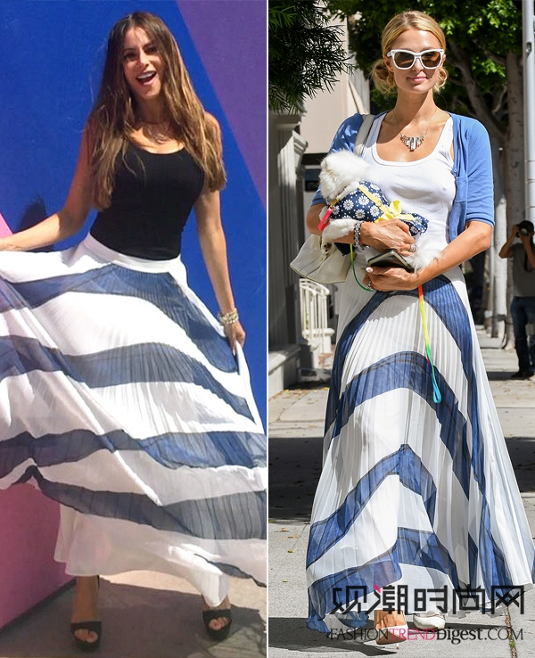 女明星撞衫谁更美?你更看好谁?