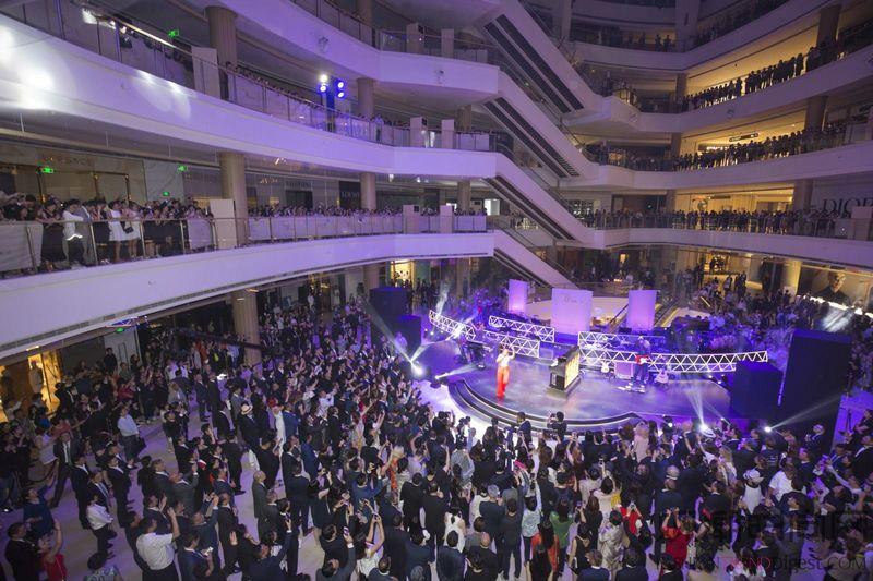 恒隆广场 上海 盛装派对圆满...
