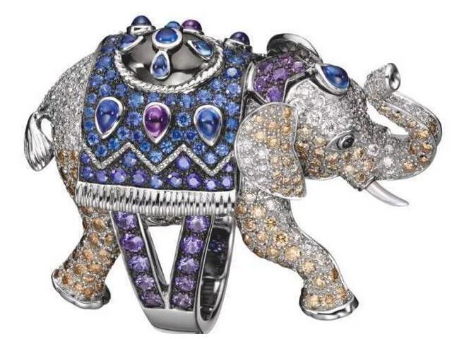 匠心之下,这些巧手做出的珠宝动物不要太美