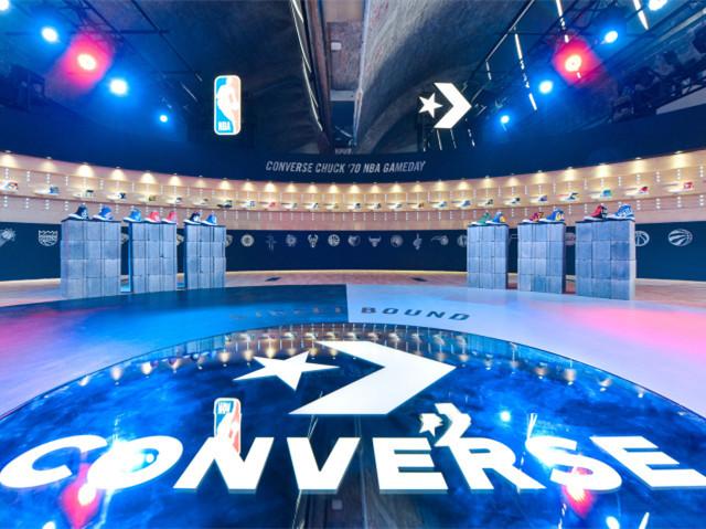 """""""初生球场, 蹦造街头"""" CONVERSE发布NBA特别合作系列 讲述从球场到街头的品牌历程"""