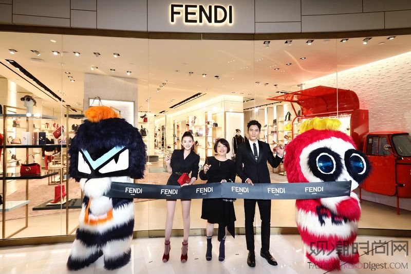 FENDI上海环贸iAPM全...