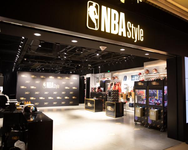 NBA潮流服装店推出全新NBA Style标志,专注时尚生活领域