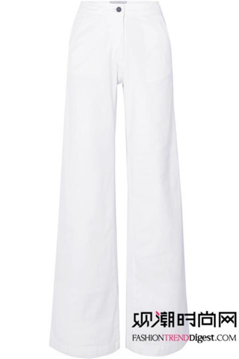 大衣+阔腿裤让你秒变时髦精!