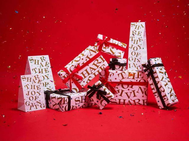 许你一个美好圣诞 温暖红色和闪耀金色 都要送给你