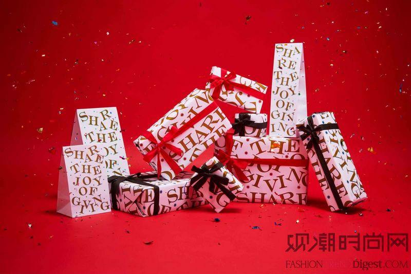 许你一个美好圣诞 温暖红色和...
