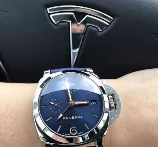 推荐三款蓝色调的腕表,装点您...