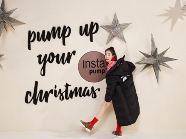 无声色,不圣诞 Reebok InstaPump Fury圣诞节特别款,Pump up your Christmas