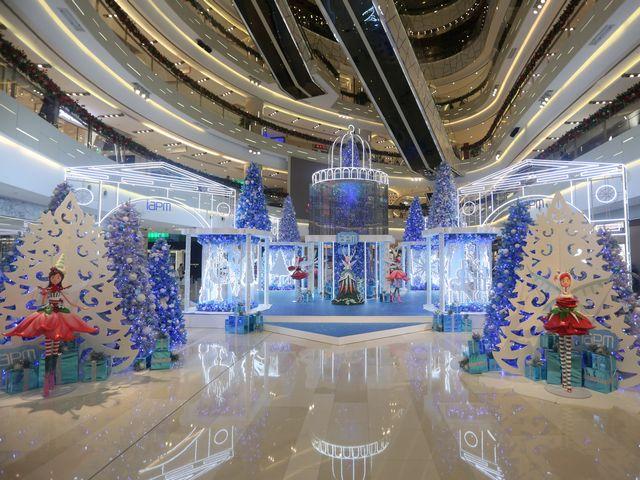 当圣诞节遇上北极光 环贸iapm商场梦幻圣诞独特打开方式 「极光圣诞冰雪仙境」主题展