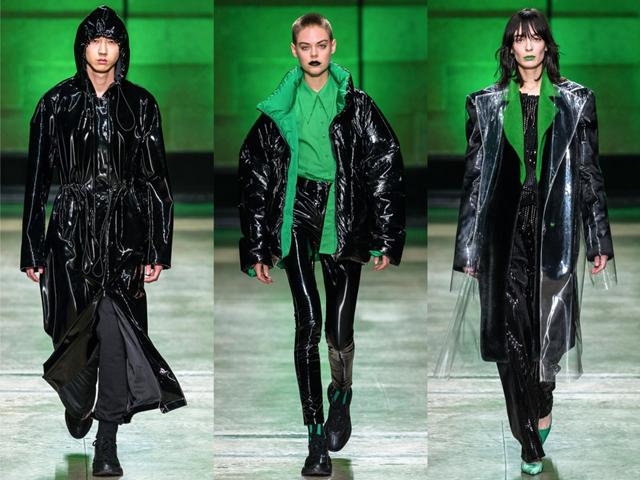 中国设计师杨子在米兰时装周发布ANNAKIKI2018秋冬系列,打破审美疲劳,重塑经典