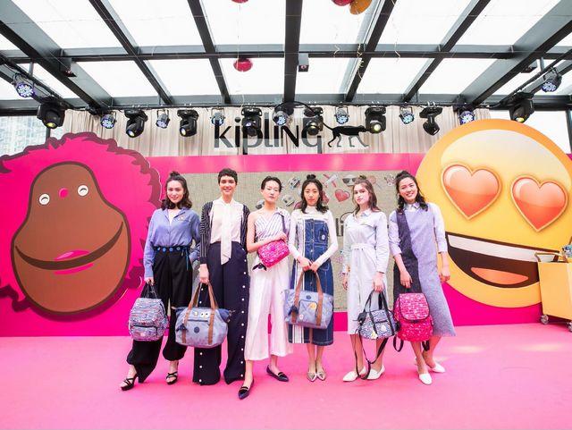 行走表情包,点亮每一天――Kipling x Emoji®亚洲独家联名合作设计系列发布