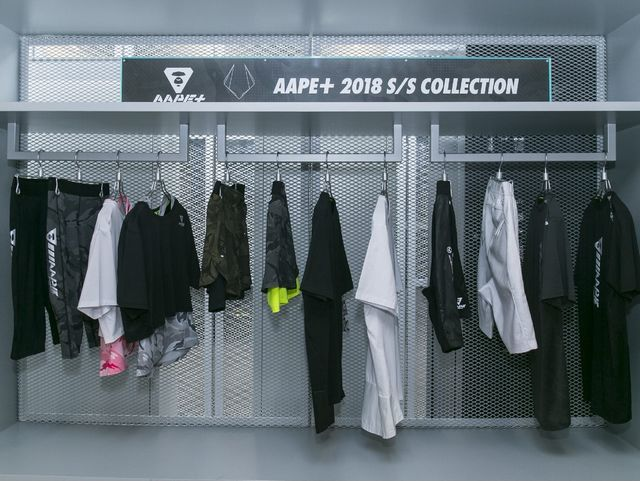AAPE+ BY A BATHING APE® 2018于春夏首度面世 「AAPE+」限时概念训场开启新潮运动体验