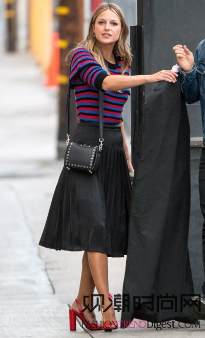 最新!欧美女明星的时尚街拍