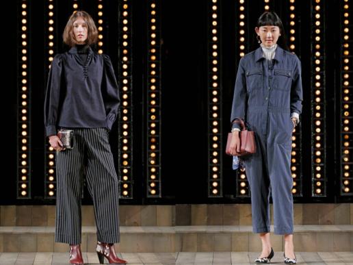 短靴+阔腿裤、高领衬衫+帅气西装,时装周暖春搭配大揭秘