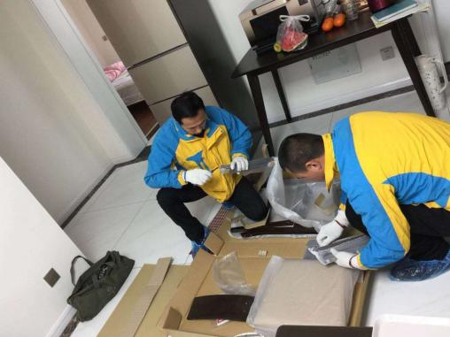 建中国最大消费品仓储服务商 苏宁顾家家居落地首个项目