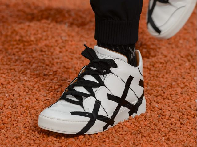 2018春夏 Ermenegildo Zegna Couture XXX系列 Tiziano运动鞋 引领XXX标识燃爆街头 X前卫觉醒――From Runway To The Street