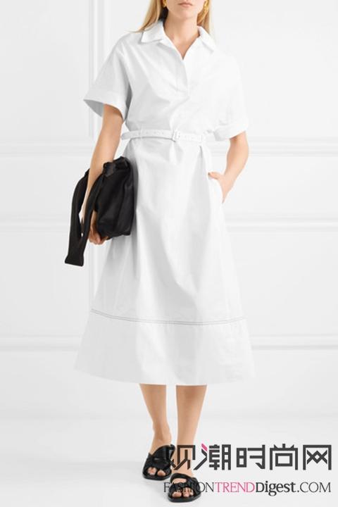 想瘦就要衬衫裙!立刻显瘦五斤...