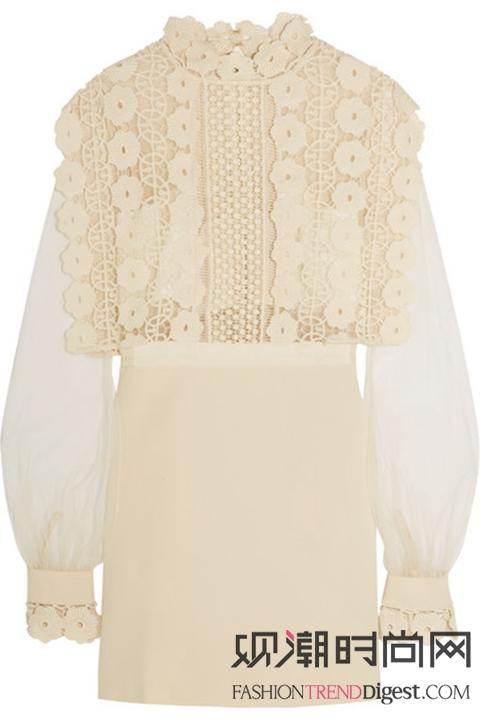 雪纺、丝绸、蕾丝,夏季服装三件宝