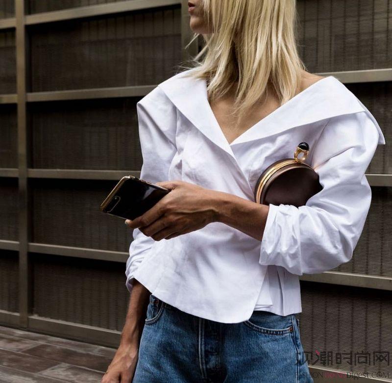 初夏时分 白衬衫的101+种...