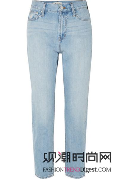 衬衫++九分牛仔裤美搭!夏季...