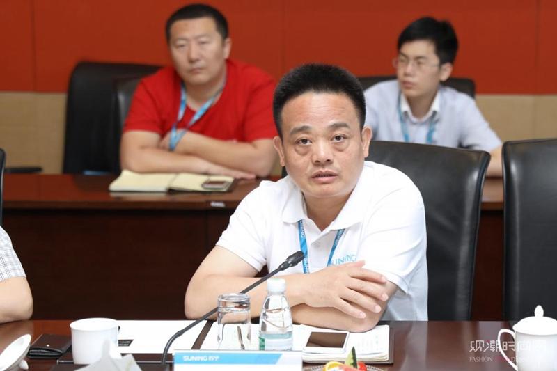 618安吉尔访苏宁:台风都阻...